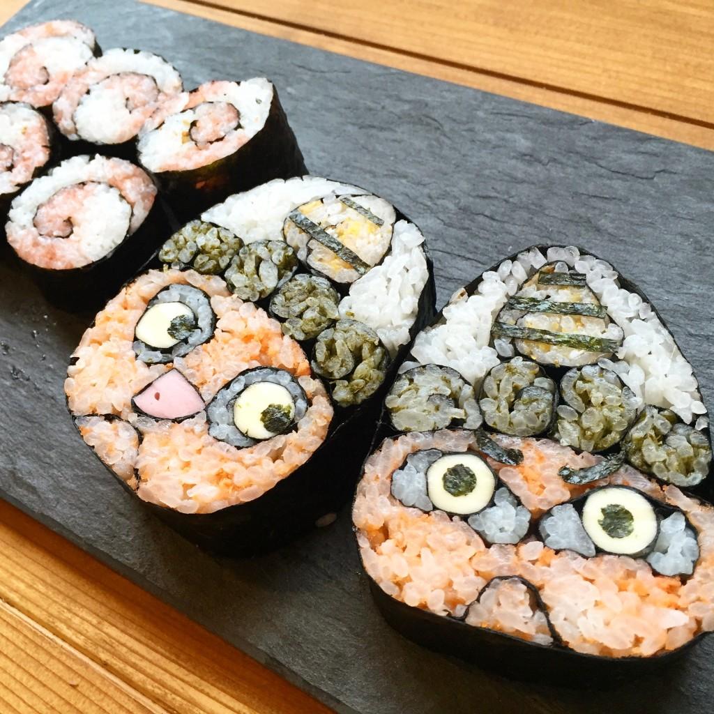 デコ巻き寿司鬼さん