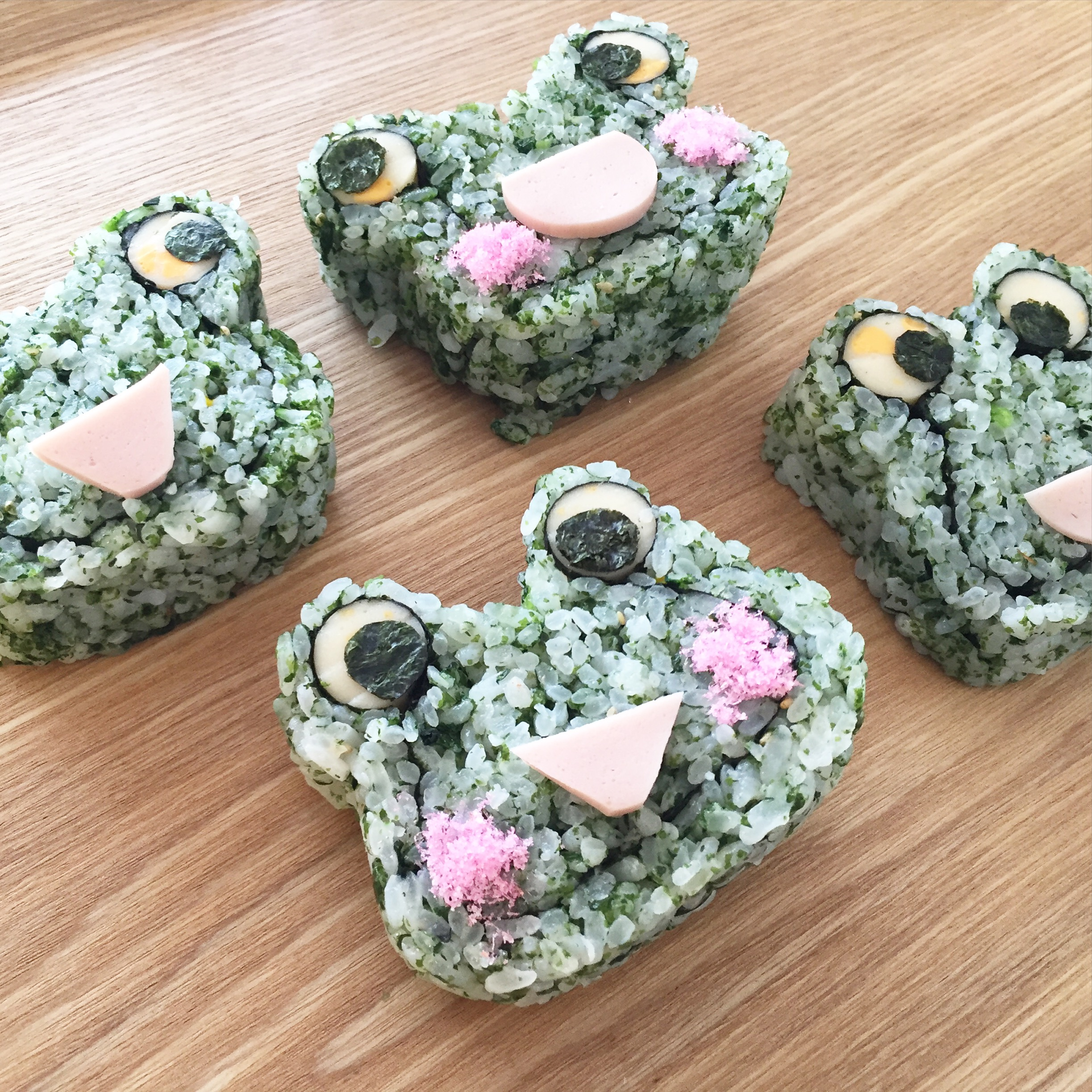 季節のでこまき寿司♪