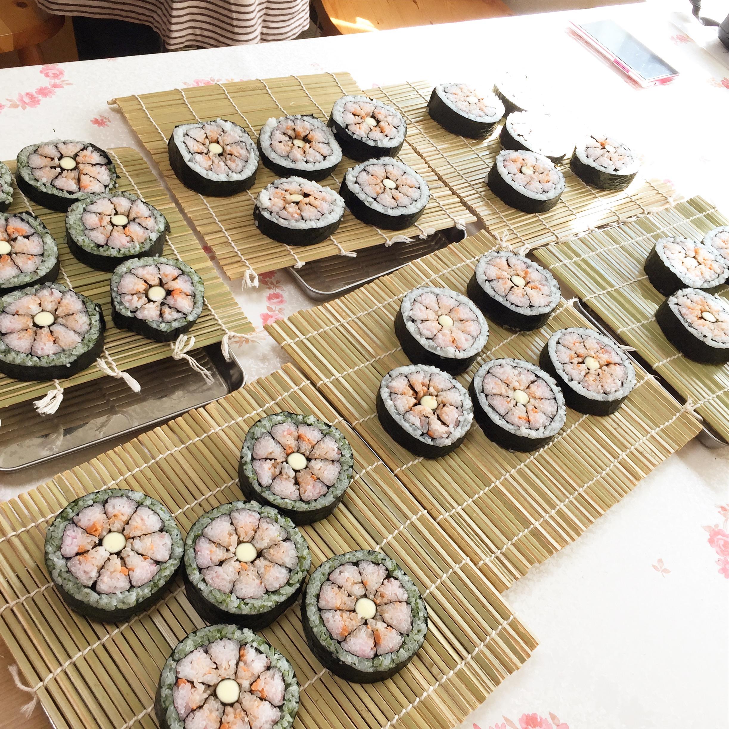 日本文化体験 デコ巻き