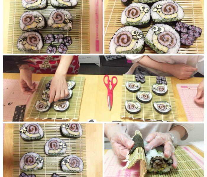 デコマキ寿司かたつむり