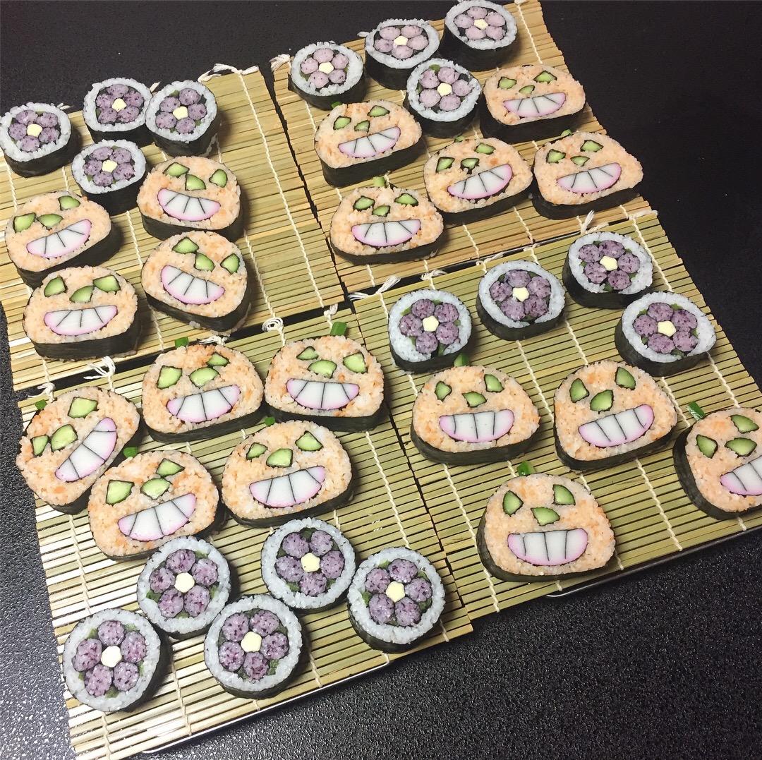 デコ巻き寿司レッスンat鳳教室