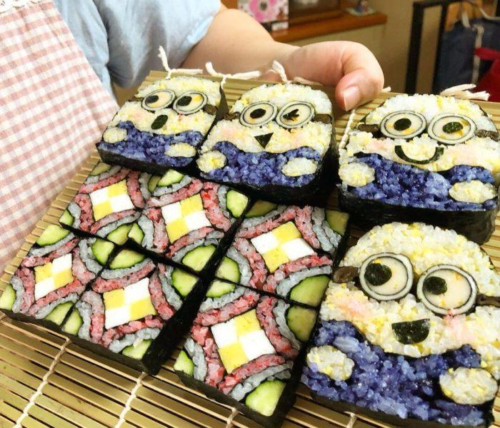 デコ巻き寿司四海巻き